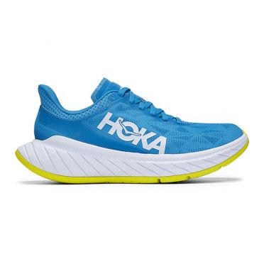 Hoka One One Carbon X 2 running shoes blue women