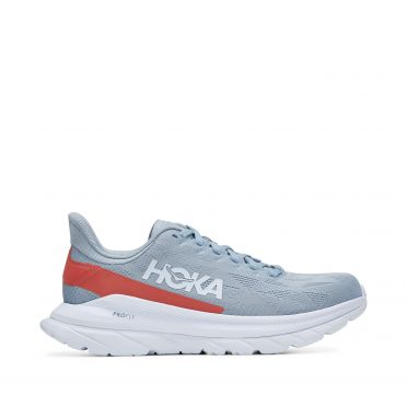 Hoka One One Mach 4 running shoes grey/white men