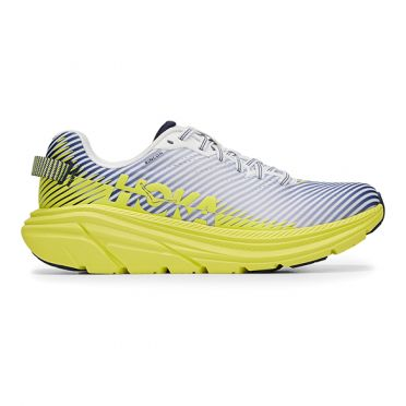 Hoka One One Rincon 2 running shoes grey/yellow men