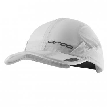 Orca Foldable running cap white