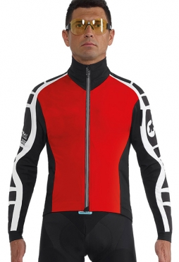 Assos iJ.bonKa.6 Cento cycling jacket red men
