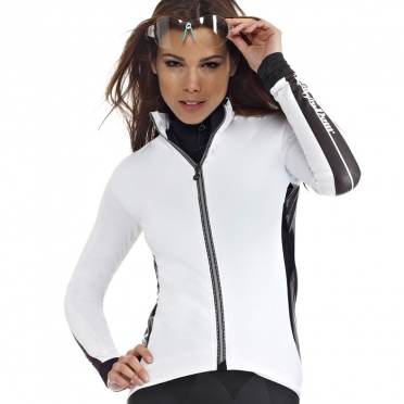 Assos iJ.pompaDour_s7 cycling jacket white women