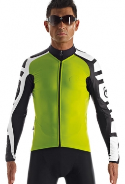 Assos iJ.tiBuru.4 cycling jacket green men