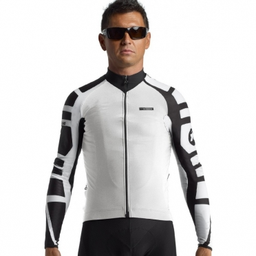 Assos iJ.tiBuru.4 cycling jacket white men