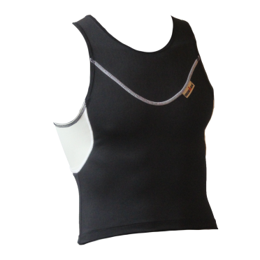 Ironman tri top sleeveless EX black men