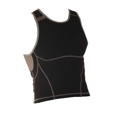 Ironman tri top sleeveless new olympic black men