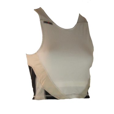 Ironman tri top sleeveless extreme white/black women