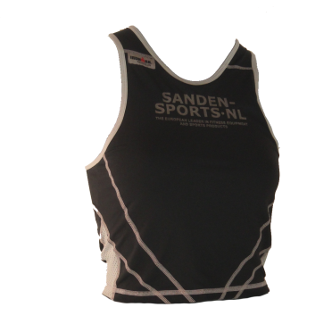Ironman tri top sleeveless extreme black/sanden women