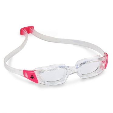 Aqua Sphere Kameleon Lady clear lens goggles silver/pink