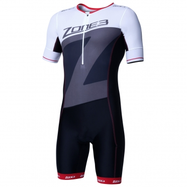 Zone3 Lava long distance short sleeve aero suit men