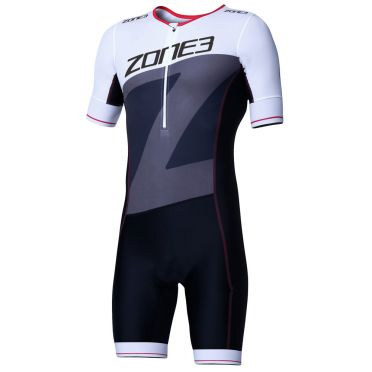 Zone3 Lava long distance short sleeve trisuit men