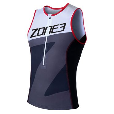 Zone3 Lava long distance sleeveless tri top men