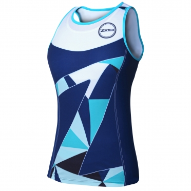 Zone3 Lava tri top blue/green women