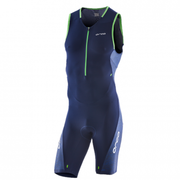 Orca 226 Perform race sleeveless trisuit blue/green men