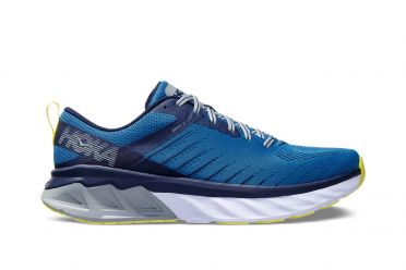 Hoka One One Arahi 3 wide running shoes blue men