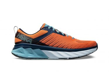 Hoka One One Arahi 3 running shoes orange/blue men