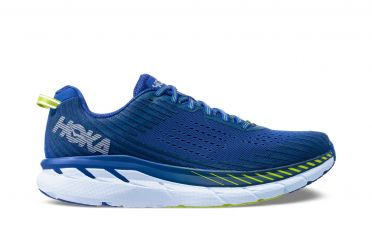 Hoka One One Clifton 5 running shoes blue/indigo men
