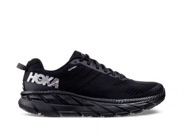 Hoka One One Clifton 6 running shoes black men