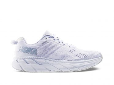 Hoka One One Clifton 6 running shoes white men