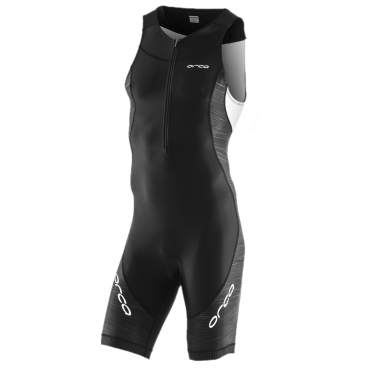 Orca Core race sleeveless trisuit black/white men