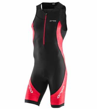 Orca Core race sleeveless trisuit black/red men