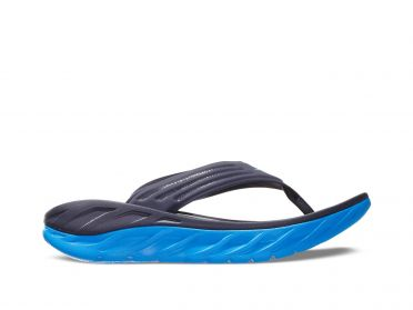 Hoka One One ORA Recovery Flip blue men