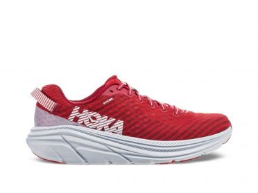 Hoka One One Rincon running shoes red/white men