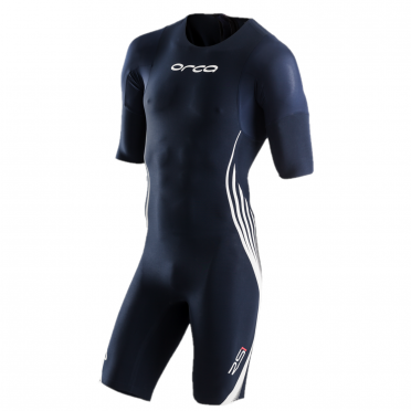 Orca RS1 sleeved swimskin blue men
