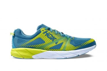 Hoka One One Tracer 2 running shoes blue/green men