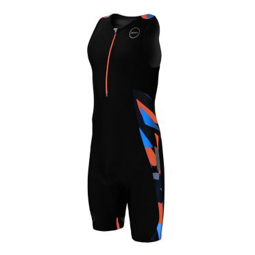 Zone3 Activate plus sleeveless trisuit Midnight camo men