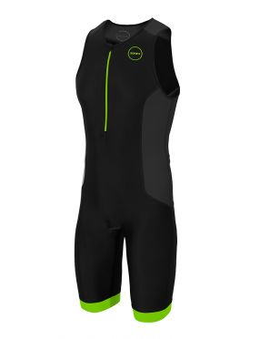 Zone3 Aquaflo plus Sleeveless trisuit black men