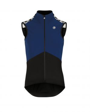 Assos Mille GT Spring fall Airblock vest blue men