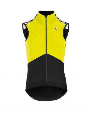 Assos Mille GT Spring fall Airblock vest Fluo yellow men