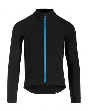 Assos Mille GT winter jacket black/blue men