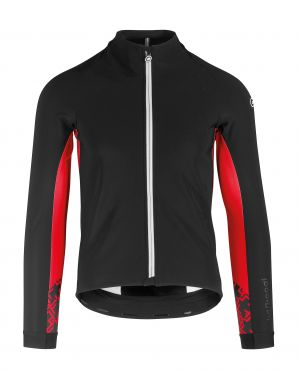 Assos Mille GT ultraz winter jacket black/red men