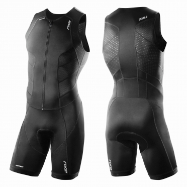 2XU Perform Full Front Zip trisuit black men