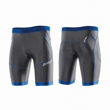 "2XU Perform 9"" Tri short black/blue men"