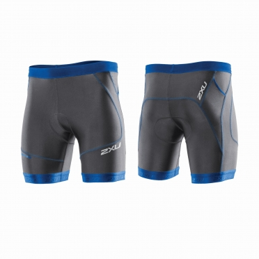 "2XU Perform 7"" Tri short black/blue men"