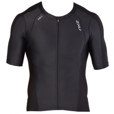 2XU Compression Short sleeve tri top black men 2018