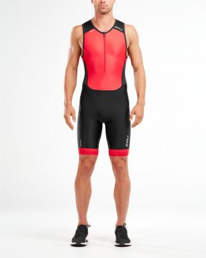 2XU Perform sleeveless trisuit black/red men
