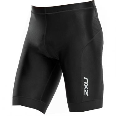 "2XU Perform 9"" tri shorts black men"