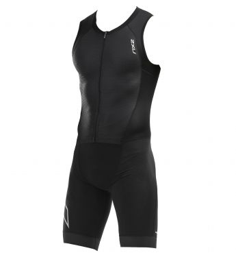 2XU Compression sleeveless trisuit black men