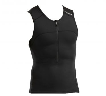 2XU Active sleeveless tri top black men
