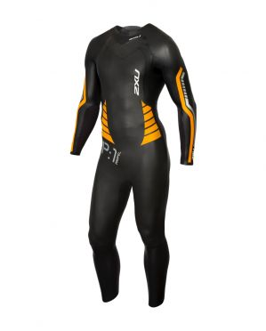 2XU P:1 Propel full sleeve wetsuit black/orange men