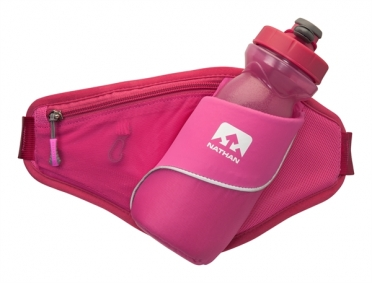 Nathan Triangle Hydration Belt pink
