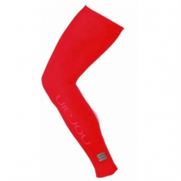 Sportful NoRain leg warmers red unisex