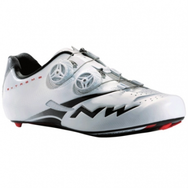 Northwave extreme tech plus race shoe white/black men's