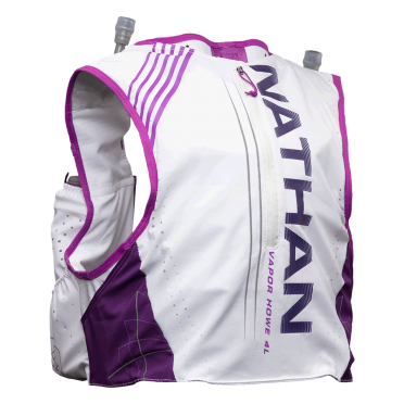Nathan VaporKHowe2 Drinking backpack 4L white/purple