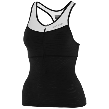 Orca 226 tri top black/white women