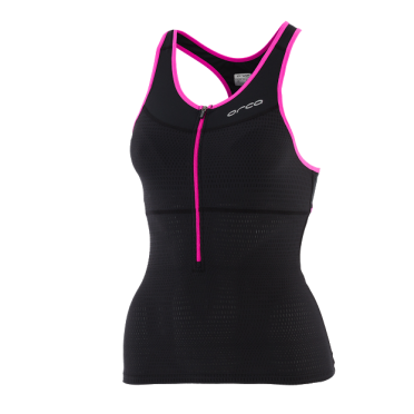 Orca 226 tri top black/pink women